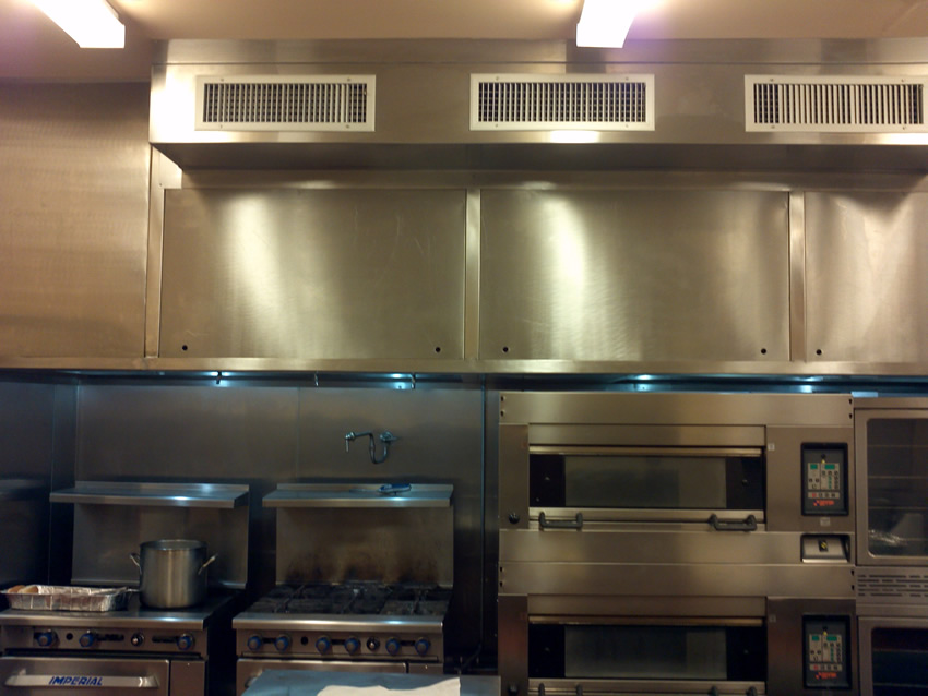 Contemporary restaurant kitchen hood vents hoods decor
